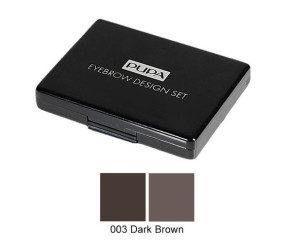 Pupa набор для бровей EYEBROW DESIGN №003 DARK BROWN