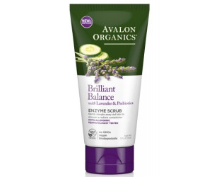 Avalon Organics Энзимный скраб для кожи лица с лавандой Exfoliating Enzyme Scrub 113г