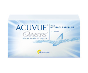 Линзы контактные Acuvue Oasys with Hydrackear Plus №12 /-3,75/