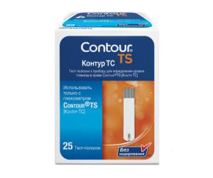 Тест-полоски Контур ТС N25