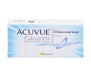 Линзы контактные Acuvue Oasys with Hydrackear Plus №6 -4,00