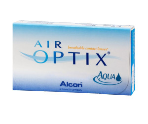 Линзы контактные AIR OPTIX AQUA N3 -4,00