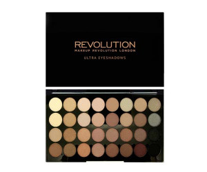 Makeup Revolution Палетка теней 32 оттенка Ultra 32 Shade Eyeshadow Palette, 20 г