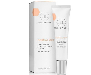 Holy Land Dermalight Dark Circle Corrective Eye Cream make-up корректирующий крем с тоном 15мл