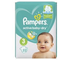 Pampers подгузники Active Baby-Dry 3 6-10 кг N22
