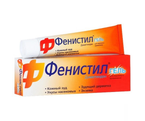 Фенистил гель для наружного применения 0,1% 100г N1 туба