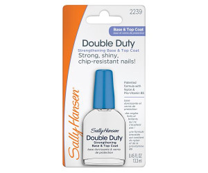 Sally Hansen Nailcare Средство 2 в 1: база и верхнее покрытие double duty strengthening base & top coat