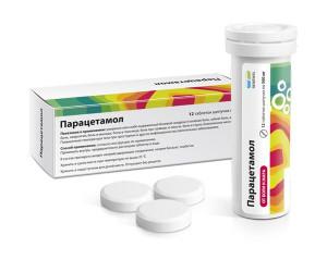 Парацетамол таблетки шипучие 500мг N12 Обновление