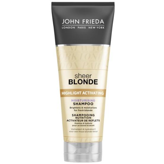 Купить John Frieda Sheer Blonde Увлажняющий активирующий шампунь для светлых волос 250 мл