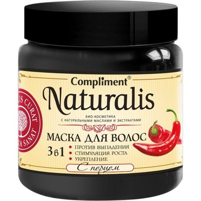 Купить Compliment Naturalis Маска для волос 3в1 с перцем 500мл