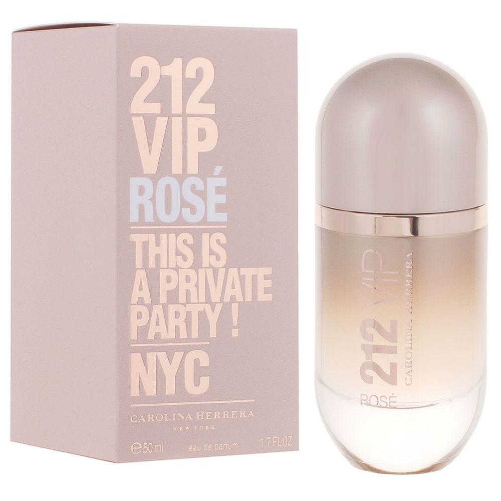 Купить CAROLINA HERRERA 212 VIP ROSE парфюмерная вода женская 50мл