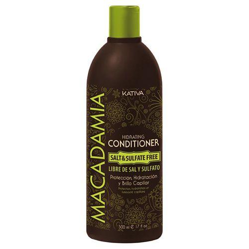 Kativa macadamia интенсивно увлажняющий кондиционер для нормальных и