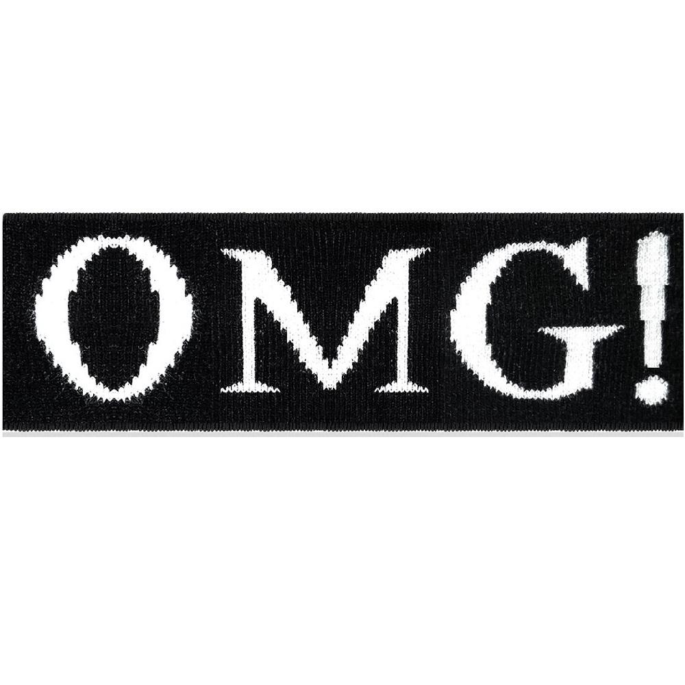 Double Dare OMG! Man In Black мужская повязка для фиксации волос во время косметических процедур