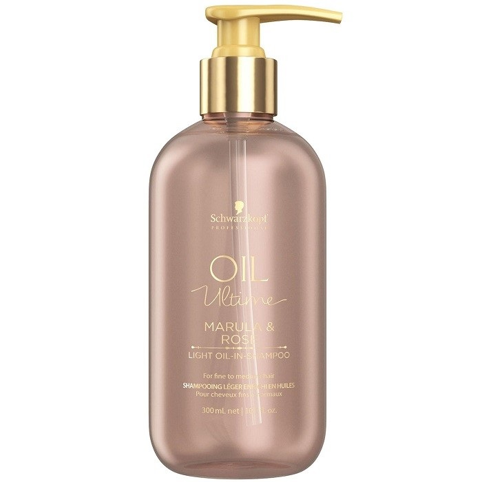 Купить Schwarzkopf Oil Ultime Шампунь для тонких и нормальных волос 300мл, Schwarzkopf Professional