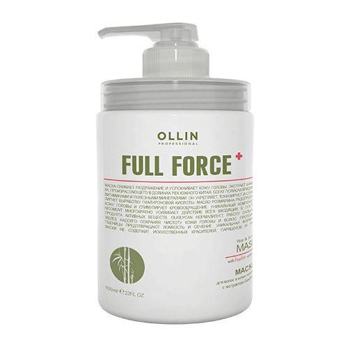 Купить Ollin Professional FULL FORCE Маска для волос и кожи головы с экстрактом бамбука 650мл