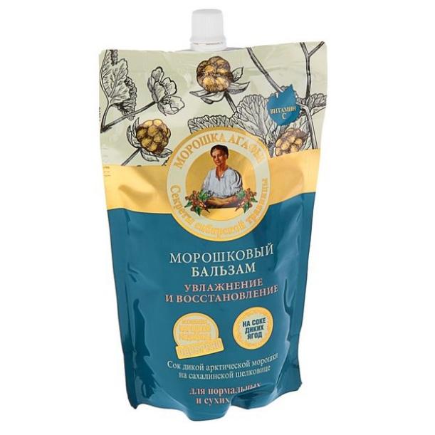 Купить Рецепты Бабушки Агафьи Бальзам для волос Морошковый увлажнение и восстановление для нормальных и сухих 500мл, Рецепты бабушки Агафьи