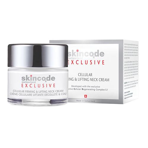 Skincode Exclusive Клеточный укрепляющий и подтягивающий крем для шеи, 50 мл