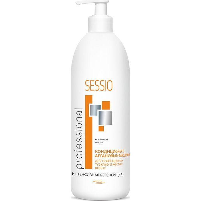 Купить Sessio Кондиционер с аргановым маслом для поврежденных, тусклых и жестких волос 500г
