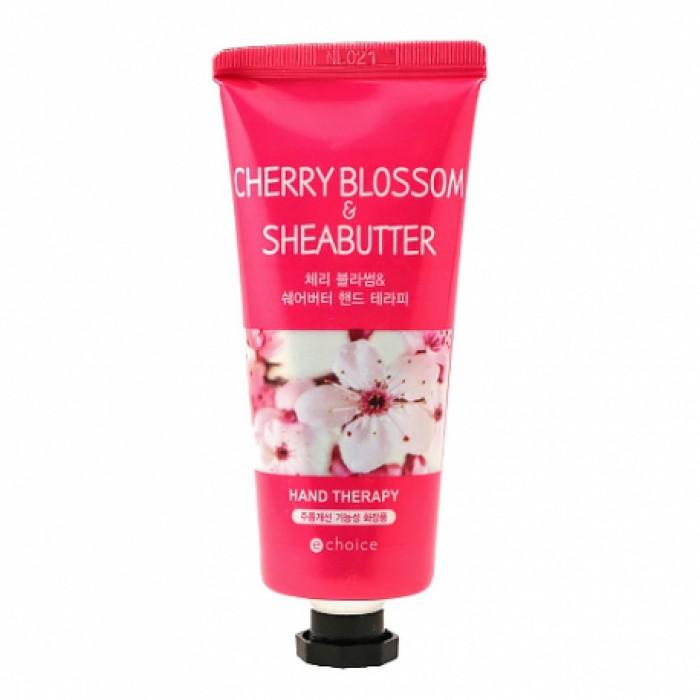 Echoice крем для рук с маслом ши и цветком вишни 60мл