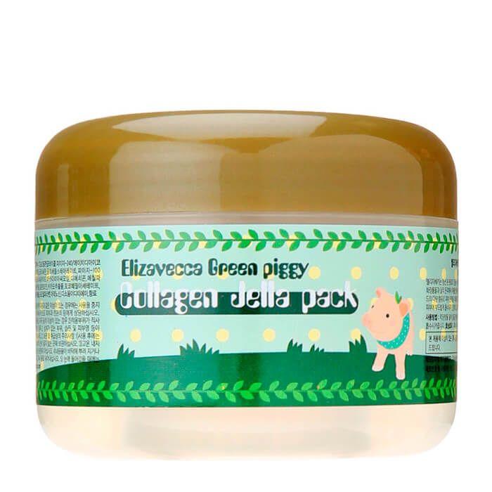 Купить Elizavecca Маска для лица желейная с коллагеном ЛИФТИНГ Green Piggy Collagen Jella Pack 100 мл