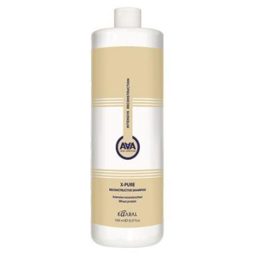 Купить Kaaral AAA Восстанавливающий шампунь для поврежденных волос с пшеничными протеинами 1000мл