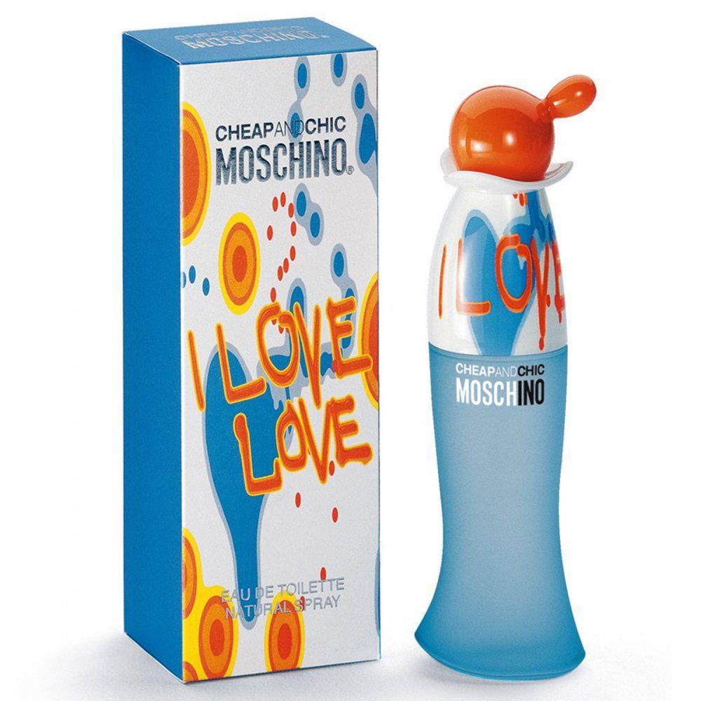 Купить MOSCHINO CHEAP&CHIC I LOVE LOVE вода туалетная женская 100 ml