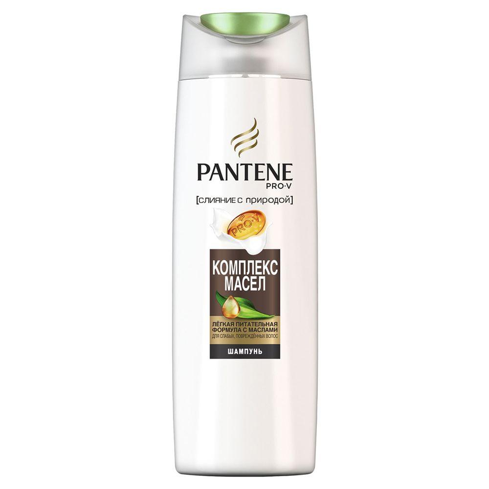 Купить Pantene Pro-V Шампунь Слияние с Природой Oil Therapy Комплекс масел 400 мл
