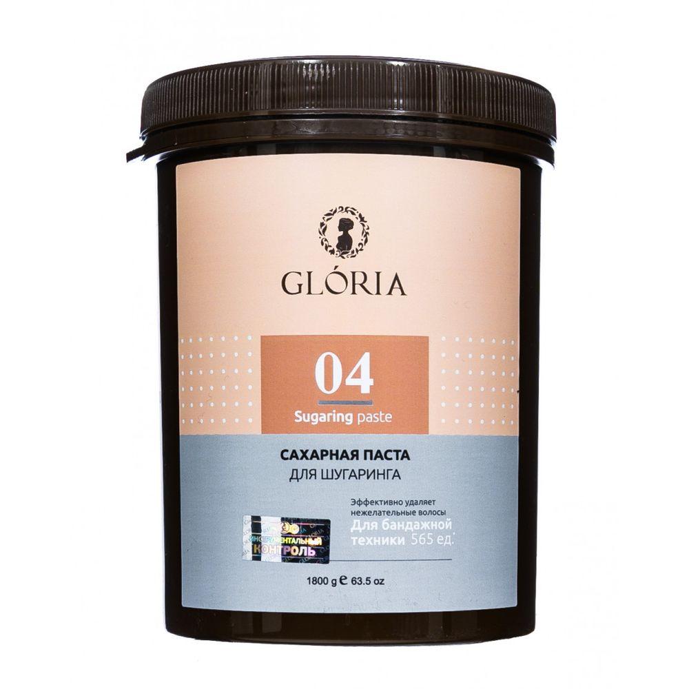 Gloria Сахарная паста для депиляции Плотная 1800гр
