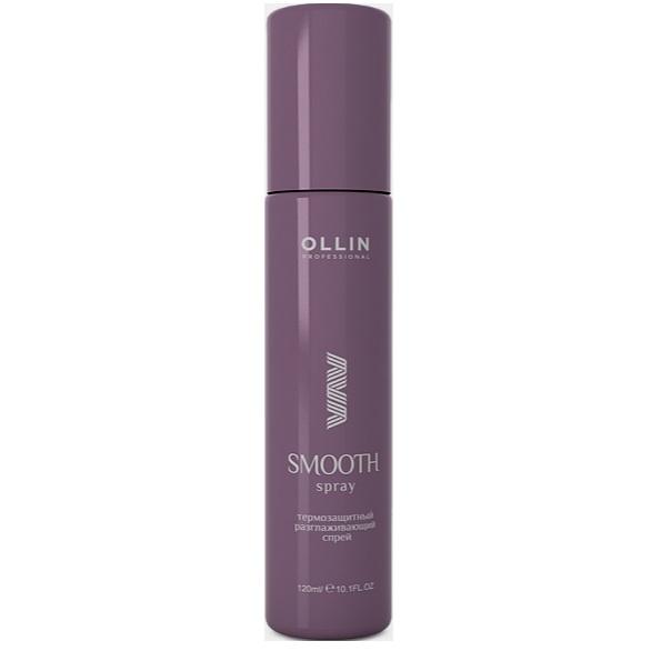 Ollin SMOOTH HAIR Термозащитный разглаживающий спрей 100мл