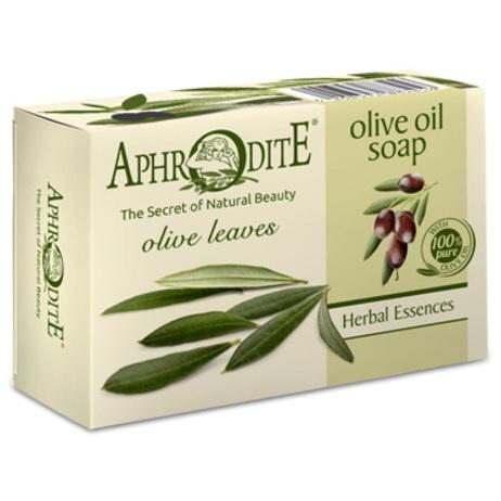 Купить Aphrodite Мыло оливковое с листьями оливы 100 г