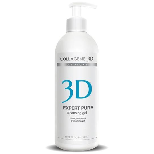 гель очищающий collagene 3d