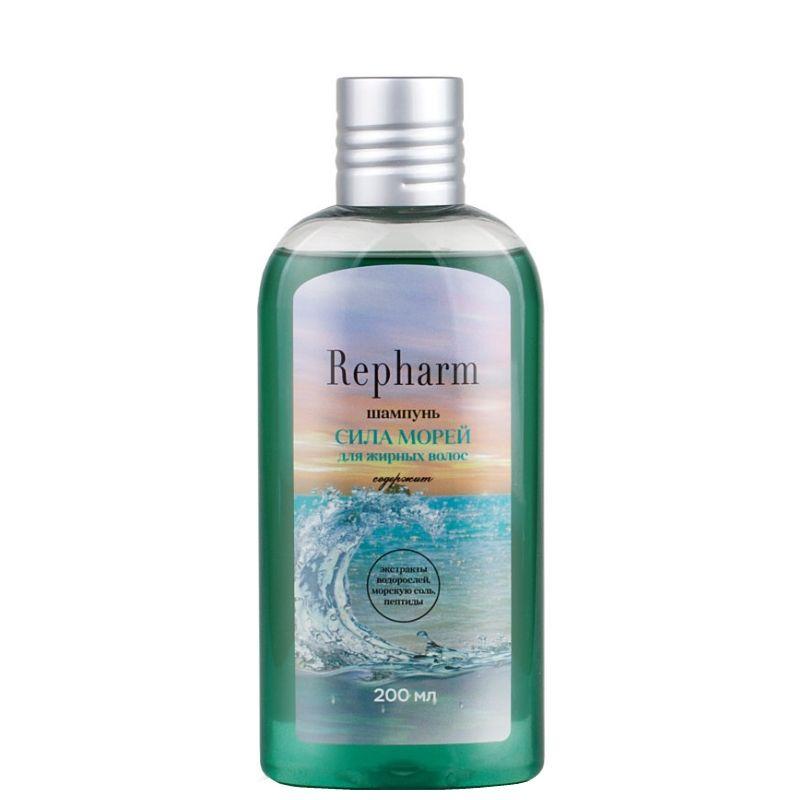 Купить Repharm шампунь сила морей для жирных волос 200мл, Рефарм