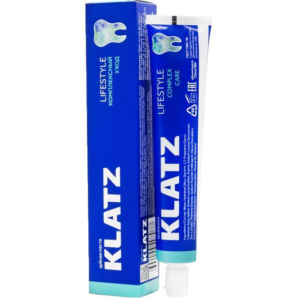 Купить Klatz LIFESTYLE Зубная паста Комплексный уход 75мл