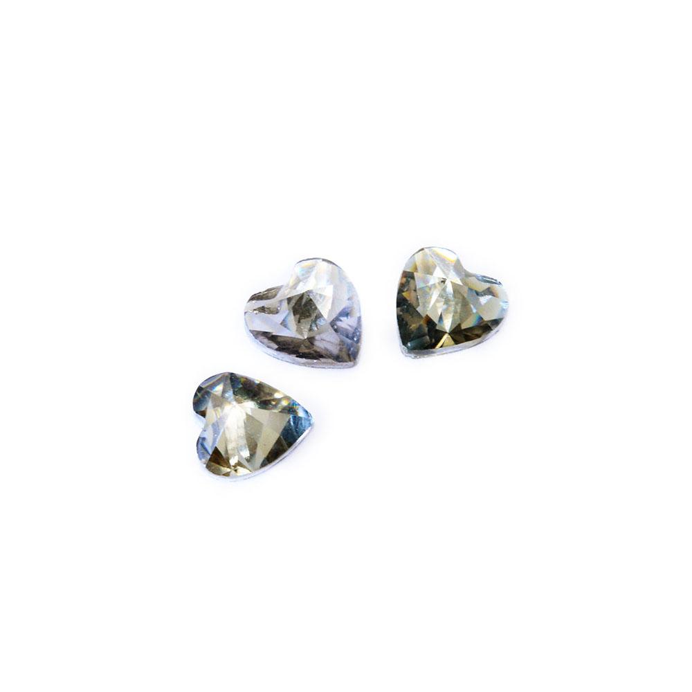 Tnl дизайн декоративный камень сердце серый