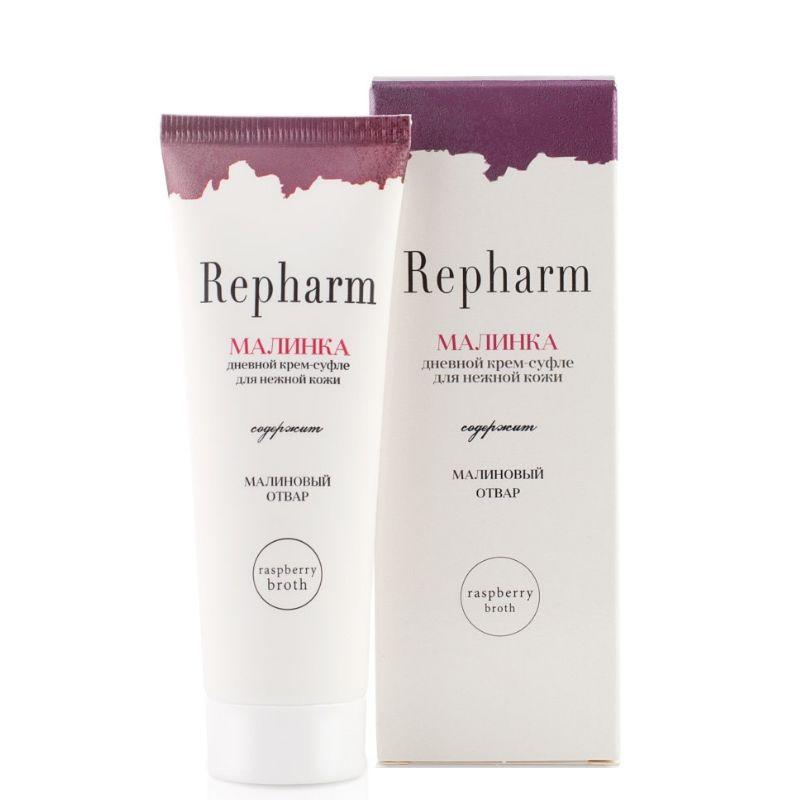 Купить Repharm дневной крем-суфле для нежной кожи малинка 50г, Рефарм
