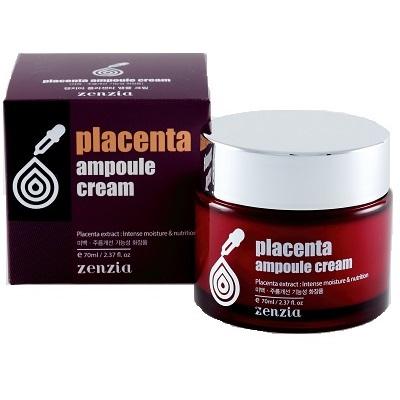 Купить Zenzia Крем для лица с плацентой 70мл