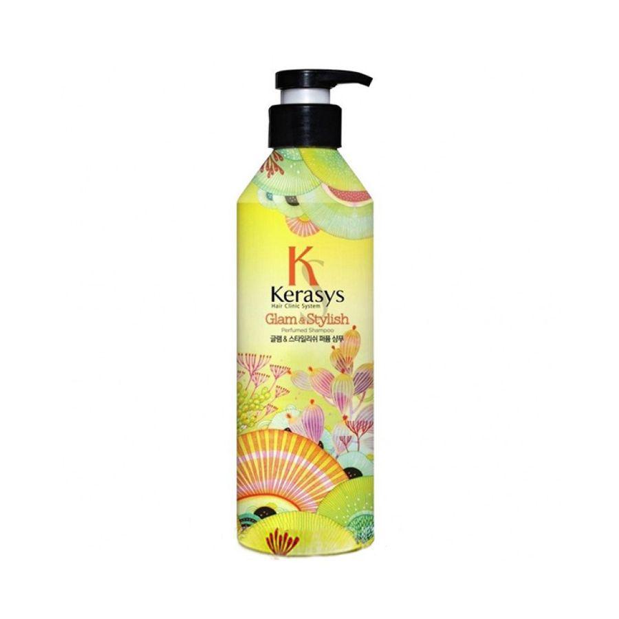 Купить Kerasys Шампунь для волос Гламур 600мл