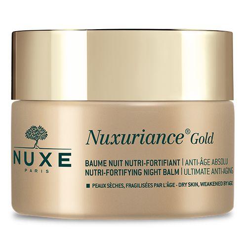 Купить Nuxe Nuxuriance Gold Питательный укрепляющий антивозрастной ночной бальзам для лица 50 мл