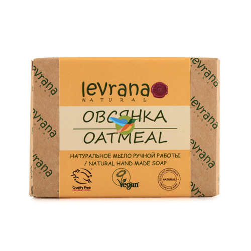Купить Levrana Натуральное мыло ручной работы Овсянка 100г
