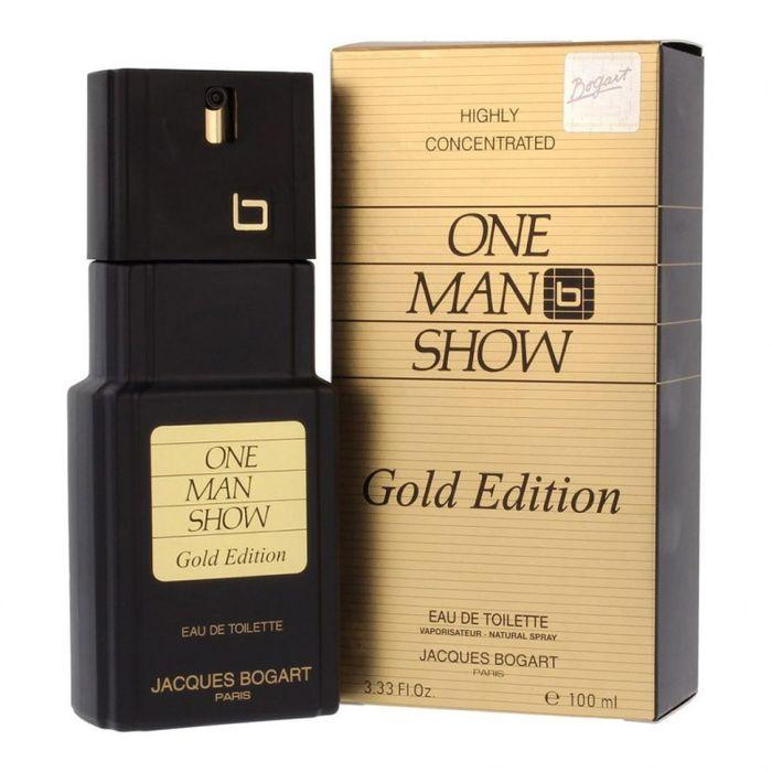 Купить BOGART ONE MAN SHOW Gold Edition Туалетная вода мужская 100мл