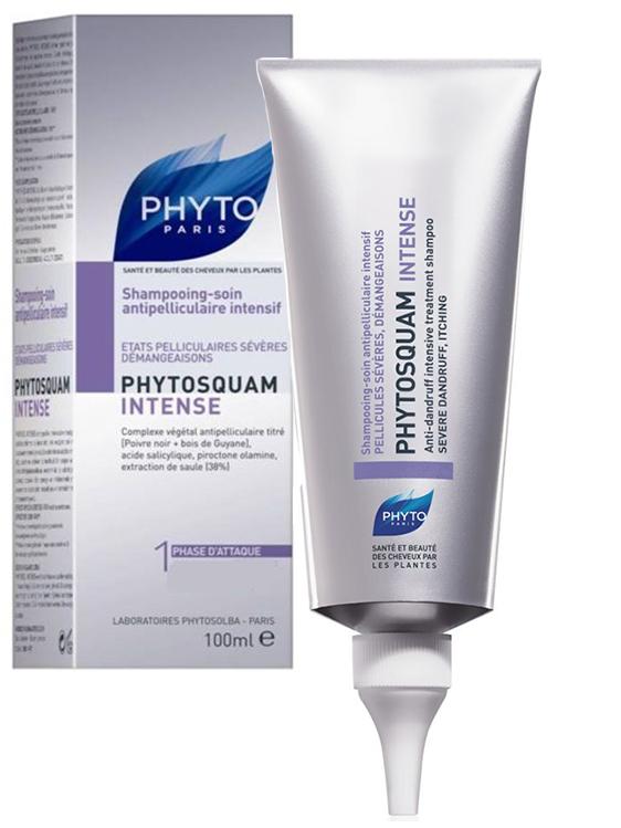 Фитосольба/phyto фитосквам интенс шампунь-уход от перхоти