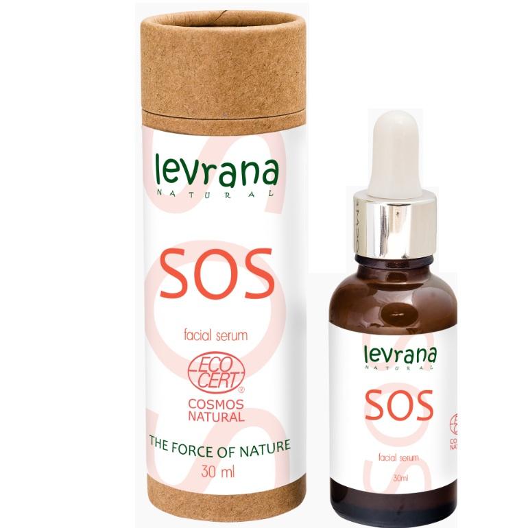 Levrana Сыворотка для лица SOS, противовоспалительная 30 мл  - Купить