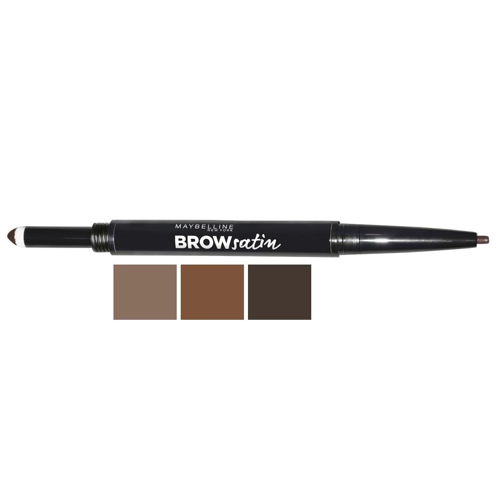 MAYBELLINE Карандаш для бровей Brow Satin 01 темный блонд  - Купить