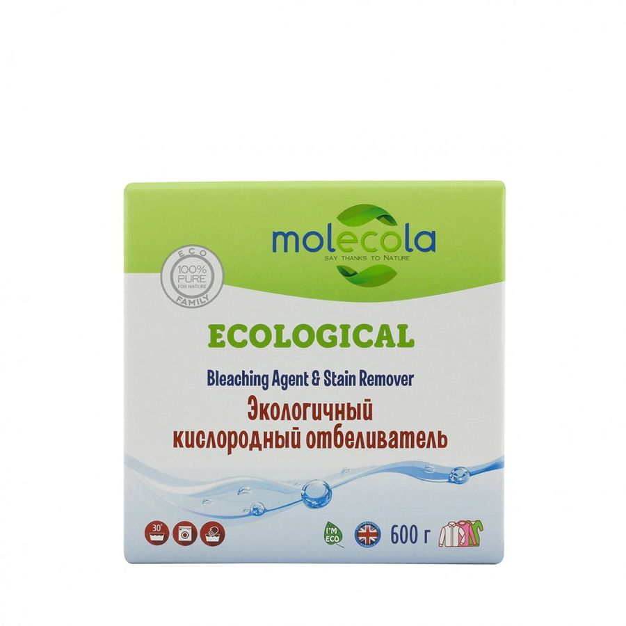 Molecola кислородный отбеливатель для белья 600гр.