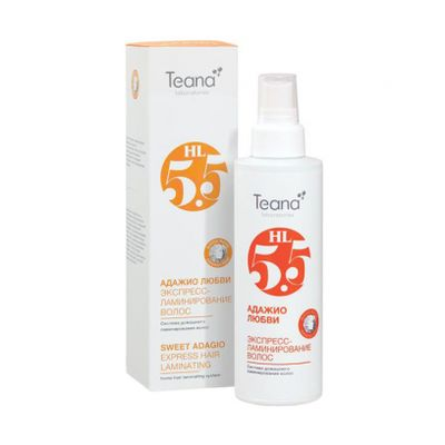 Купить Teana Адажио Любви Спрей Экспресс-Ламинирование Волос С Аминокислотами 125Мл