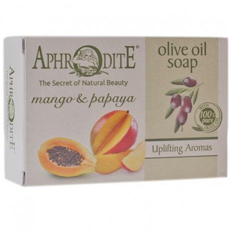 Купить Aphrodite Мыло оливковое с манго и папайей 100 г