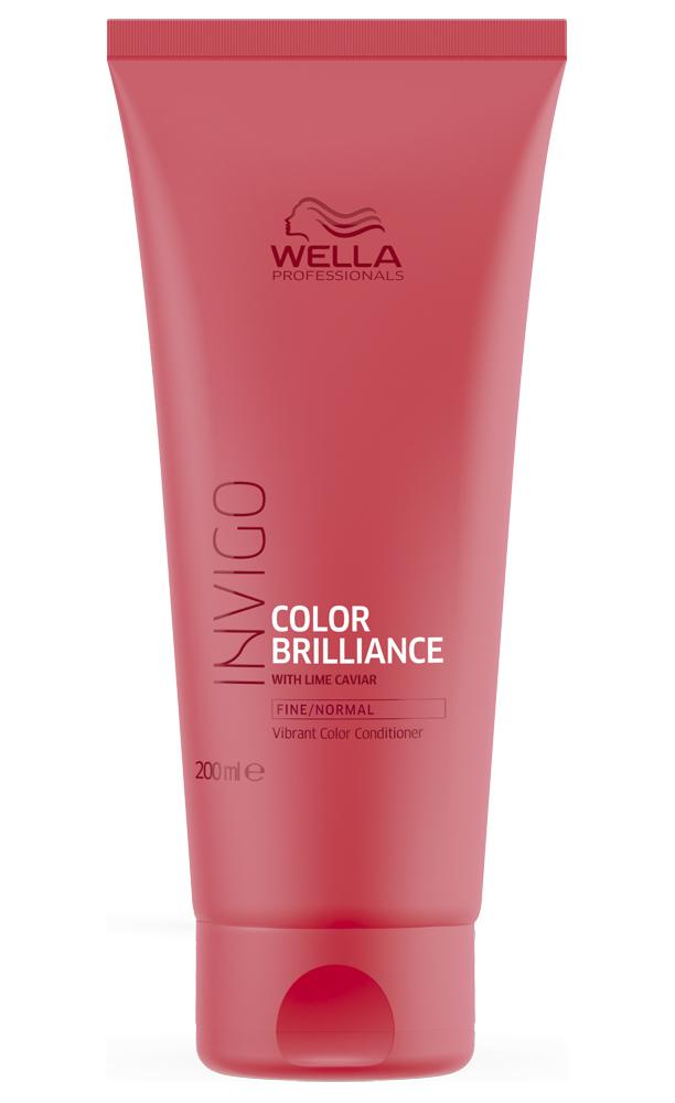 Купить Wella Invigo Color Brilliance Бальзам-уход для защиты цвета окрашенных нормальных и тонких волос 200мл
