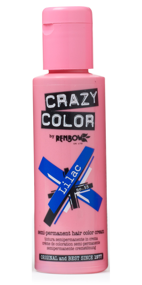 Crazy color краска для волос lilac / сиреневый