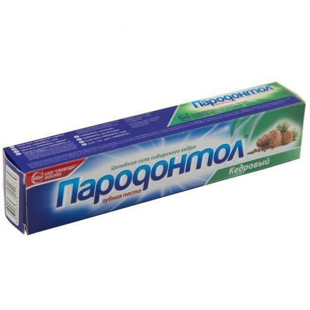 Купить Зубная паста Пародонтол Кедровый 124г Свобода