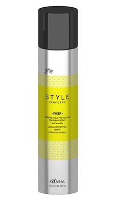 Купить Kaaral Style Perfetto Защитный лак для волос сильной фиксации 400 мл